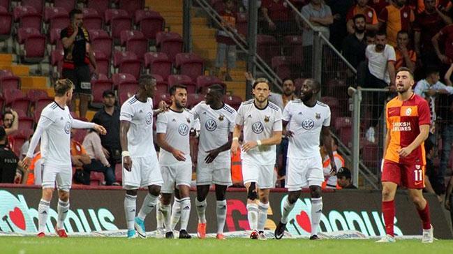 Galatasaray'ı eleyen Östersunds, Avrupa Ligi'nde fırtına ...