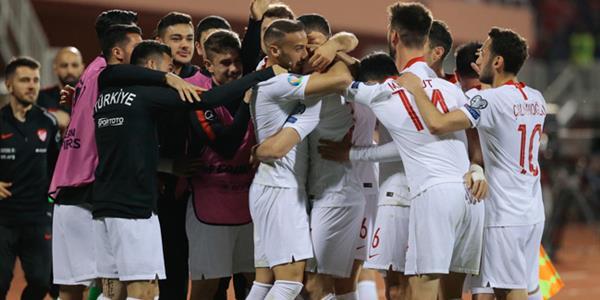 Milli takımımız galibiyetle başladı: 0-2