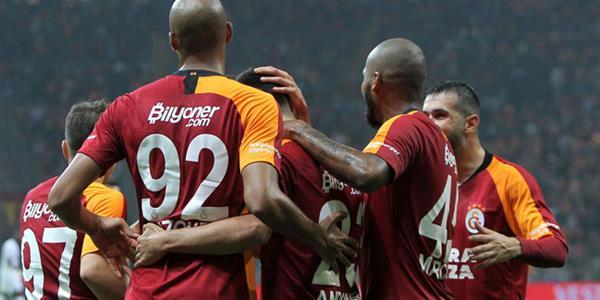 Galatasaray'ın üç puan hasreti son buldu