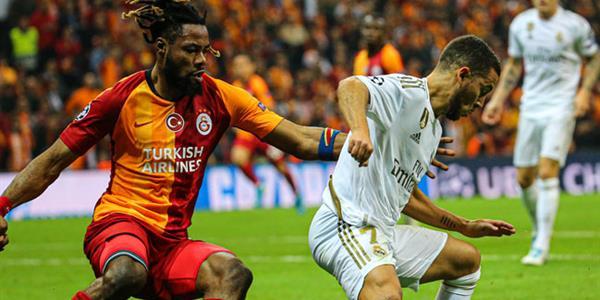 Galatasaray, Real Madrid'e tek golle mağlup oldu