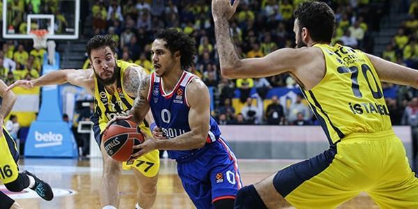 Anadolu Efes ve Fenerbahçe bu kez ligde karşılaşıyor
