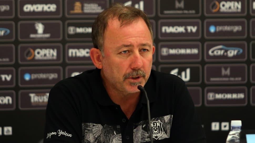 Beşiktaş Teknik Direktörü Sergen Yalçın koronavirüse yakalandı