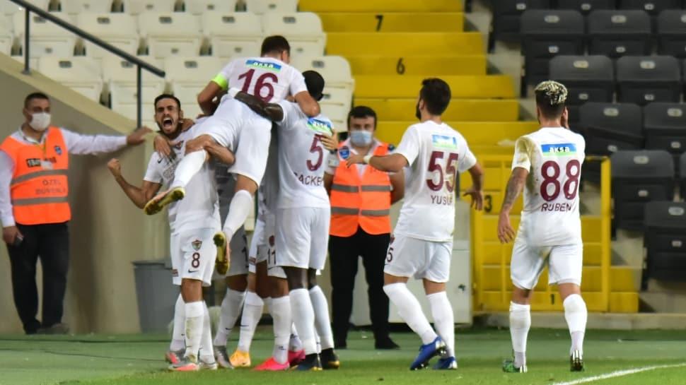 Hatayspor'dan tarihi zafer!